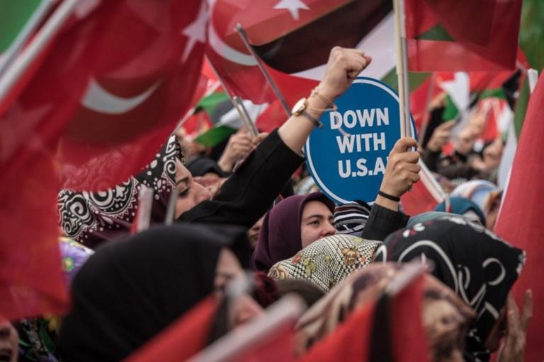 TURKEY - US - ISRAEL - PALESTINIANS - CONFLICT - DIPLOMACY