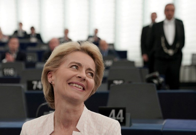 Von der Leyen is the new President of the EU Commission