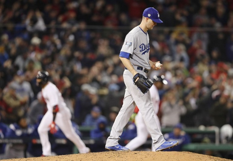 SPO - BBO - BBA - BBN - WORLD - SERIES - LOS - ANGELES - DODGERS - V - BOSTON - RED