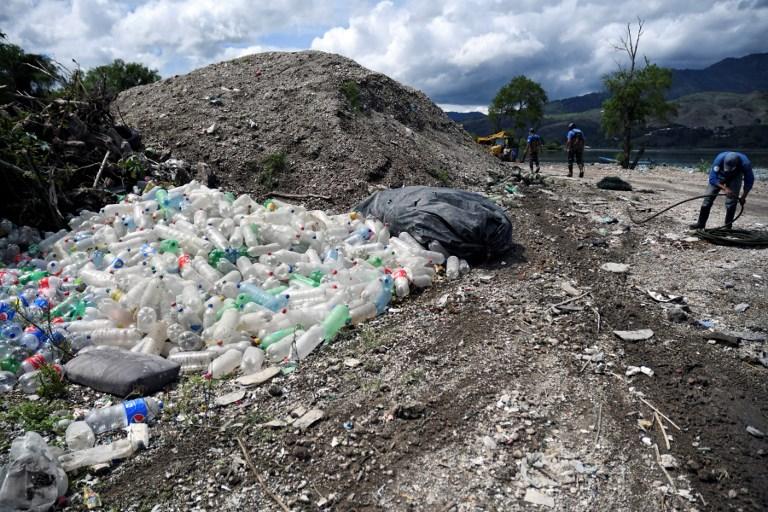 GUATEMALA - RAINS - GARBAGE